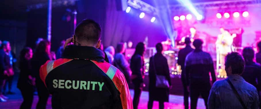 seguridad para eventos