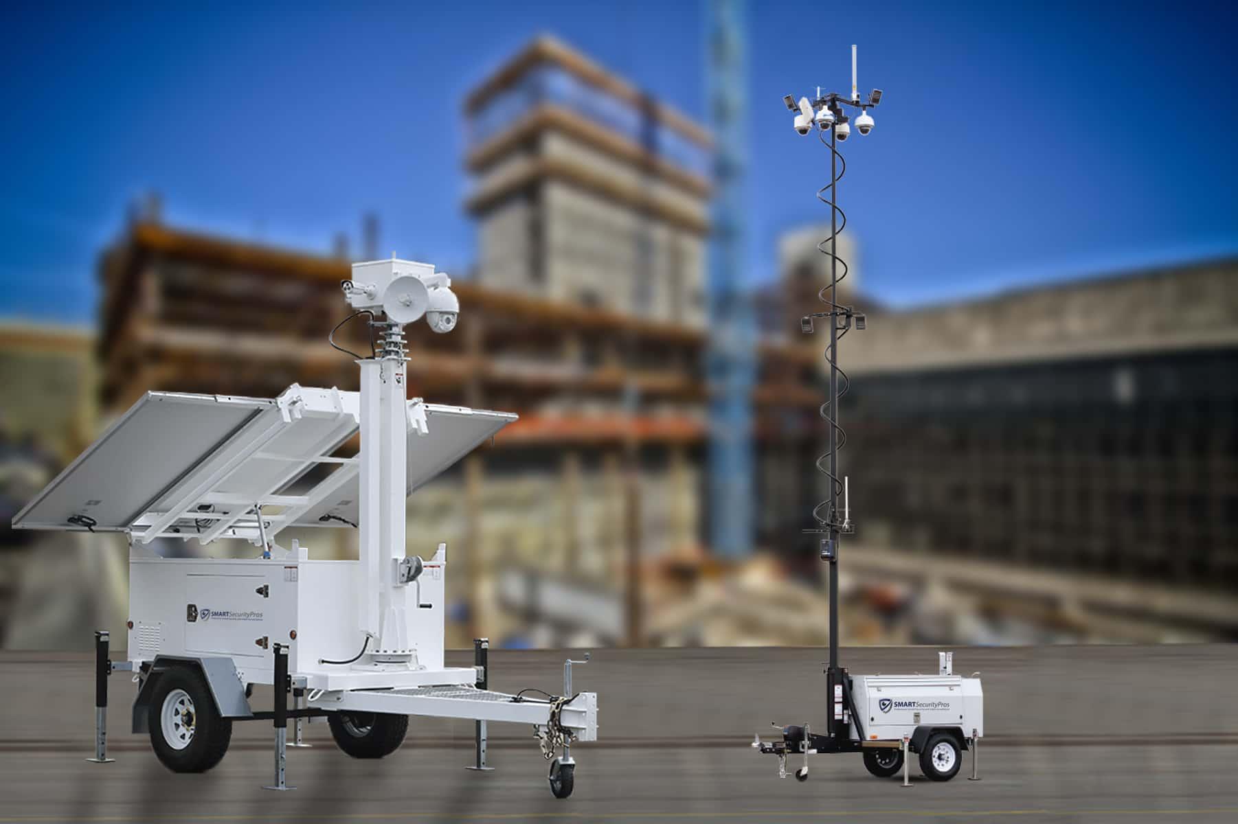 5 usos para remolques móviles de vigilancia de seguridad 6