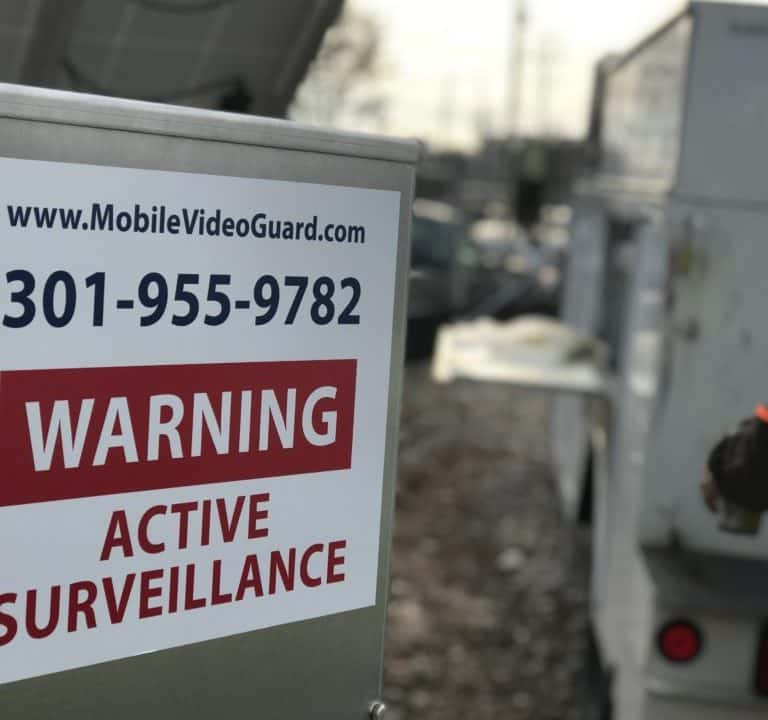 Unidades de videovigilancia móviles | Seguridad y vigilancia remota del sitio 7
