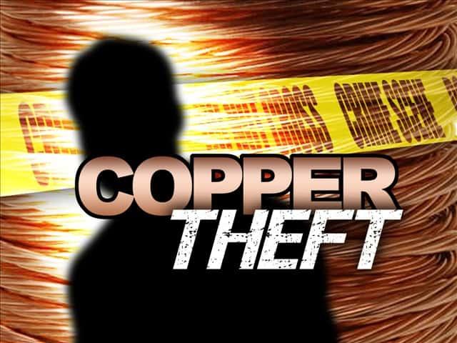 Prevención del robo de cobre y metal. 9