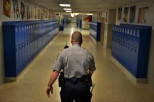 seguridad de la escuela privada