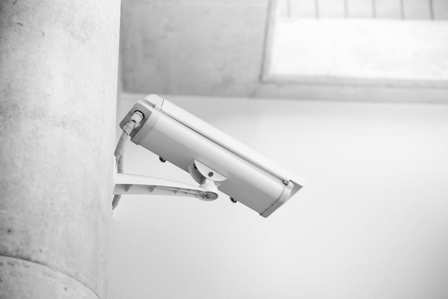 videovigilancia en una escuela