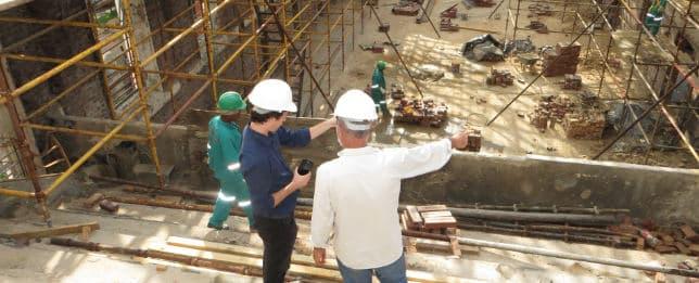seguridad privada en construcción